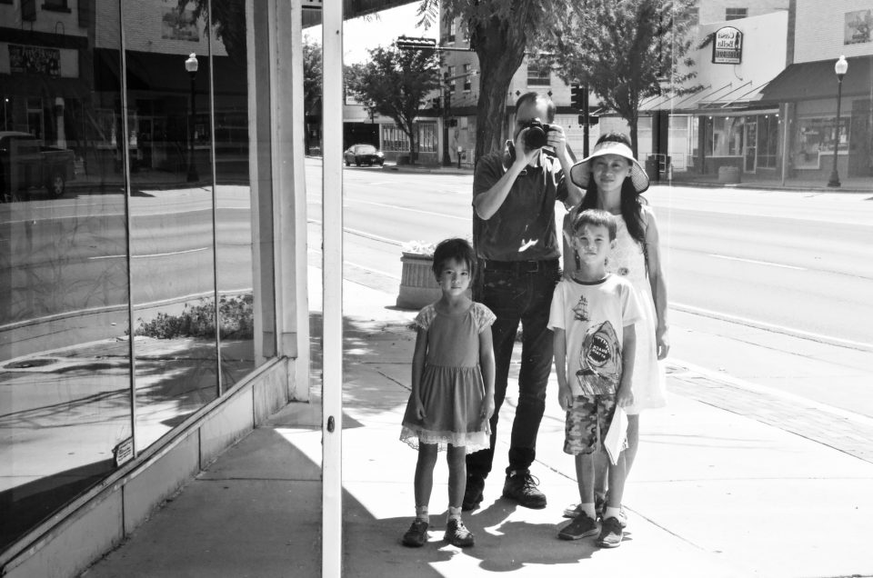 Benson family in Roswell, New Mexico