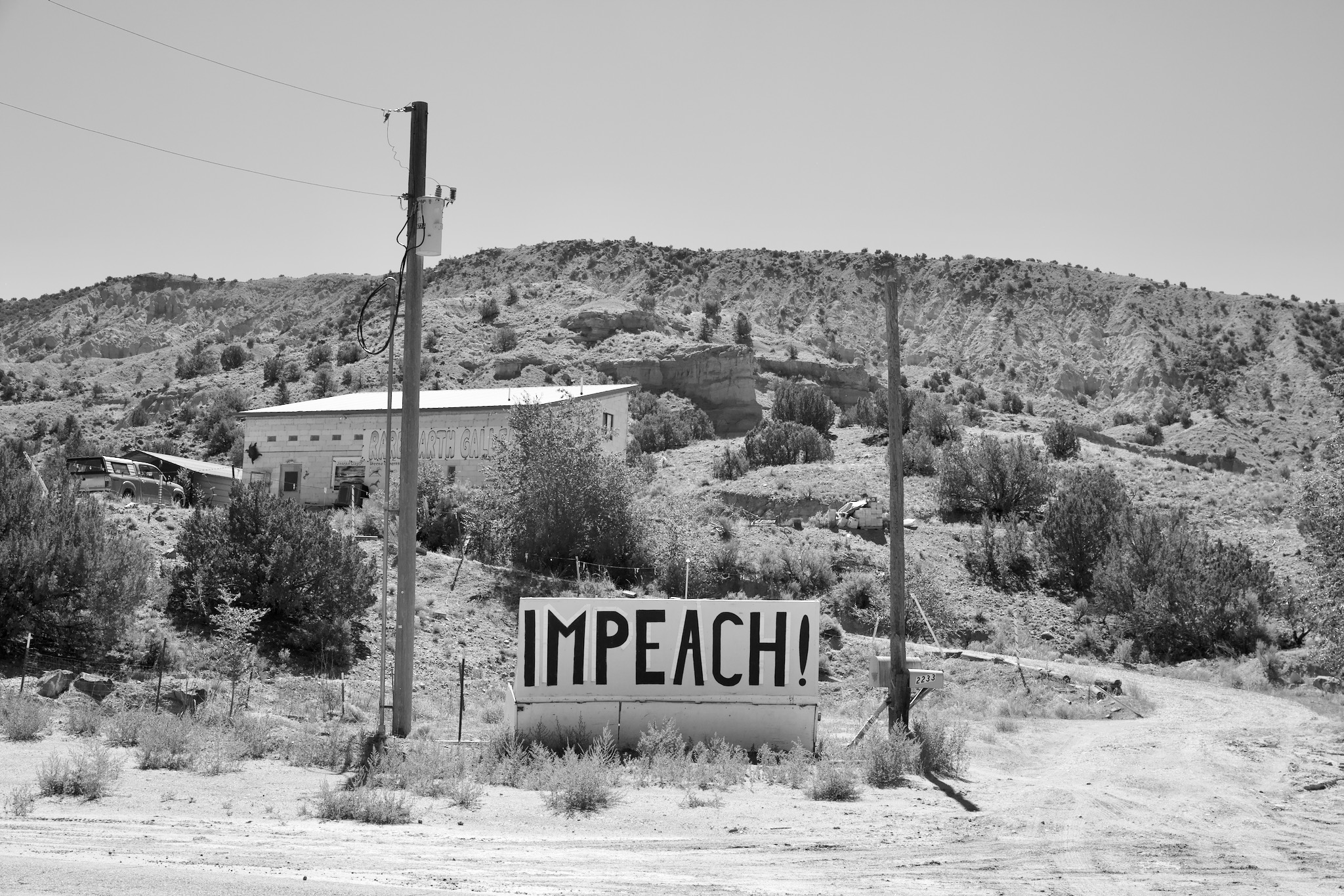 Trump love in rural New Mexico
